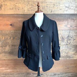 Classiques Entier Black Wool Jacket